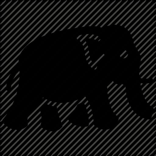 Animal, Elephant, Thai Symbol, Thailand Animal, Wild Animal Icon