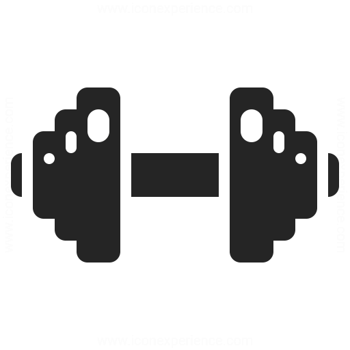 Dumbbell Icon Iconexperience