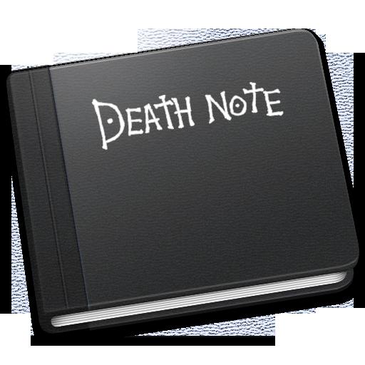Death Note Icon Book Iconset Mcdo Design