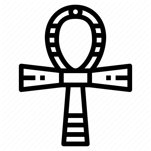 Ankh, Cultures, Egyptian, Religion Icon