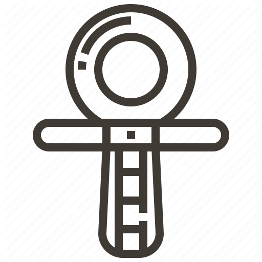 Ankh, Egypt, Egyptian, Symbol Icon