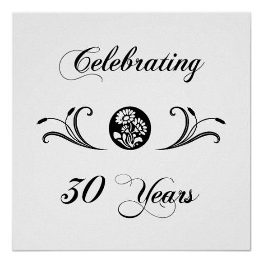 Elegant Pearl Wedding Anniversary Celebration Pocket Folder