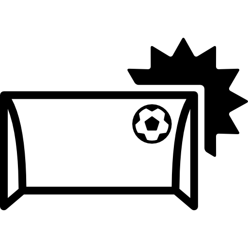 Soccer Annotation With The Ball Entering To The Arch