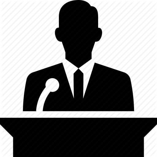 Speaker Person Transparent Png Clipart Free Download