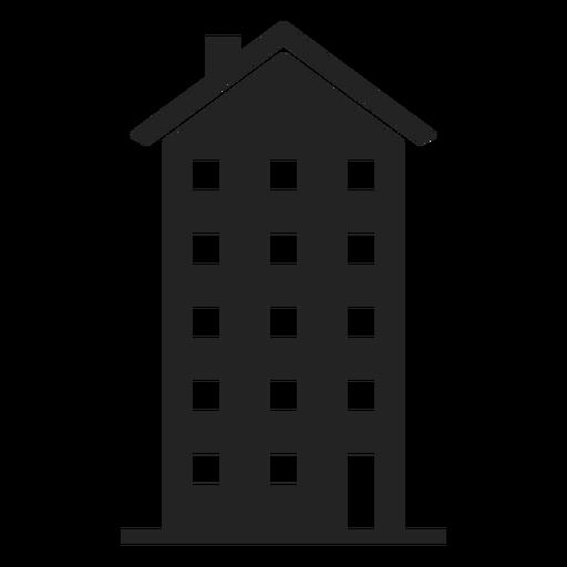 Tall Apartment Icon