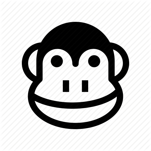 Animal, Ape, Chimpanzee, Monkey, Monkey Face Icon