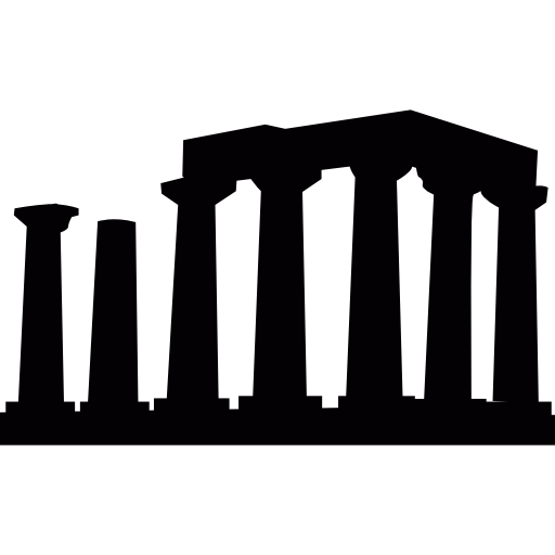 Temple Of Apollo In Greece Icons Free Download