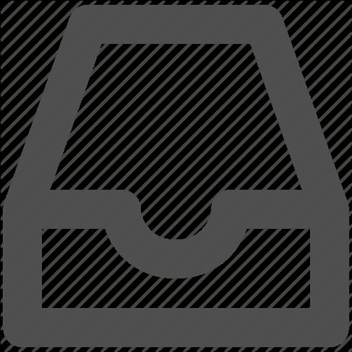 App, Box, Drawer, Web, Website Icon