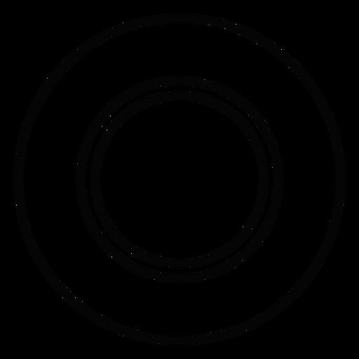 Dinner Plate Stroke Icon