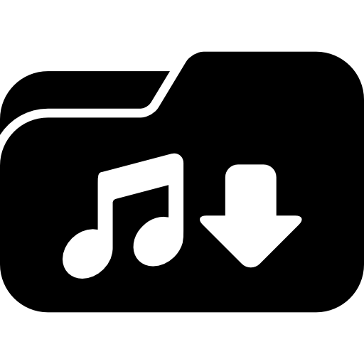Music Downloads Folder Icons Free Download