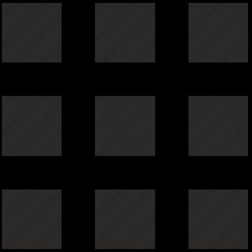Download Service,app,block,menu,setting,tile,svg Icon Inventicons