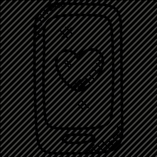 Heart Wallpaper, Red Heart, Smartphone, Wallpaper, Wallpaper App Icon