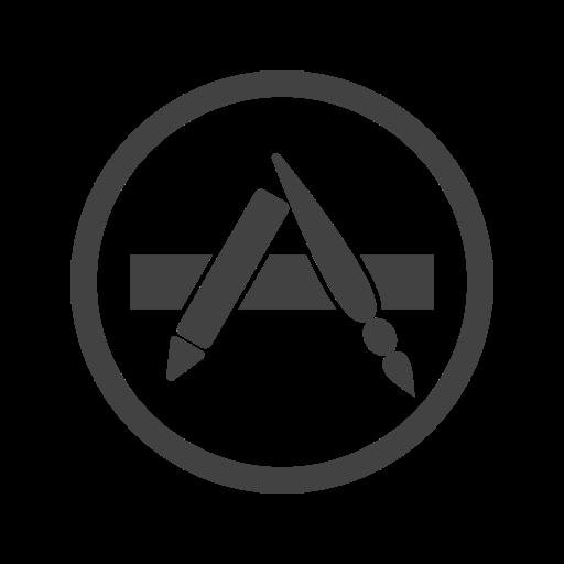 Appstore Icon Free Of Social Media Logos Ii Glyph