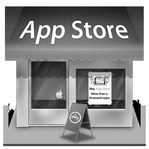 Grey Mac App Store Icon