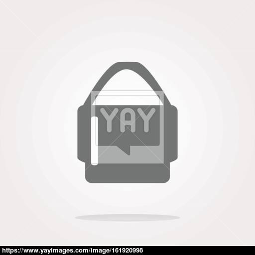 Shopping Bag, Shopping Bag Icon, Shopping Bag Icon Vector