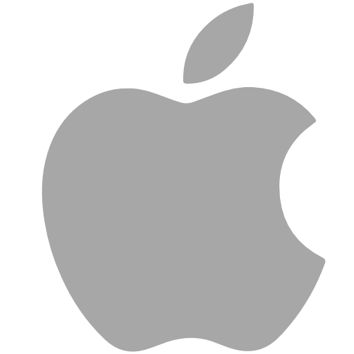 Apple, Social Network Icon Free Of Social Grey Icons