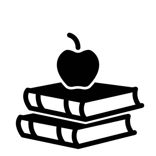 Apple And Book Icon Free Icons Download