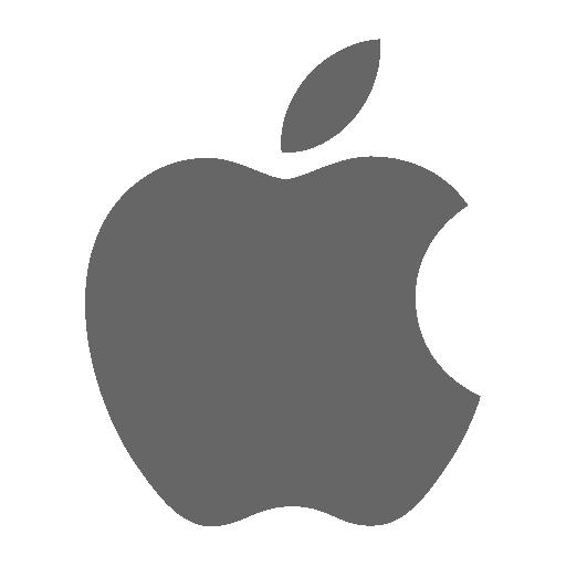 Apple Icon Socialmedia Iconset Uiconstock