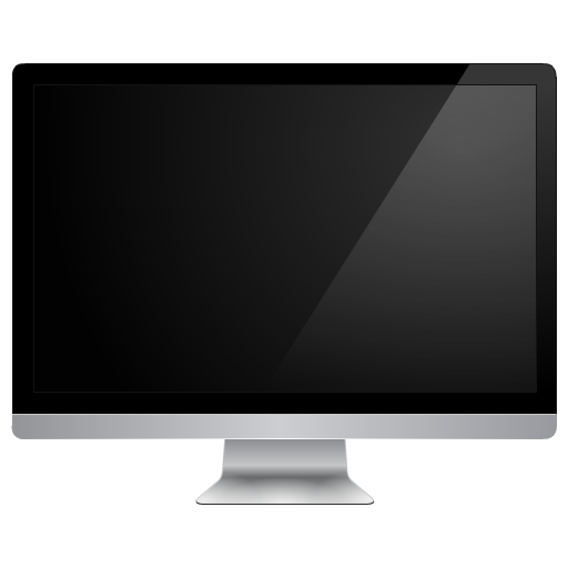 Black Monitor, Apple, Computer Png Icon
