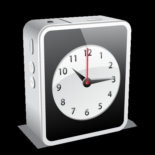 Clock Icon Mini Iconset Double J Design