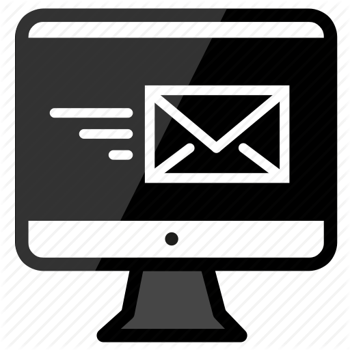 Email, Imac, Send Icon