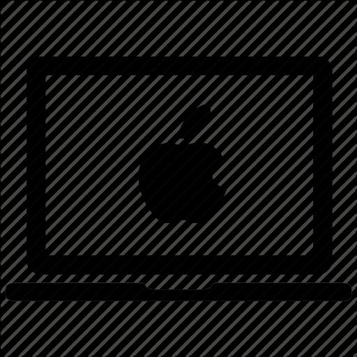 Apple Laptop, Apple Macbook, Laptop, Mac, Macbook Icon