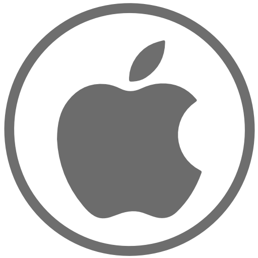 Apple Icon Free Of Social Icons Circular Color