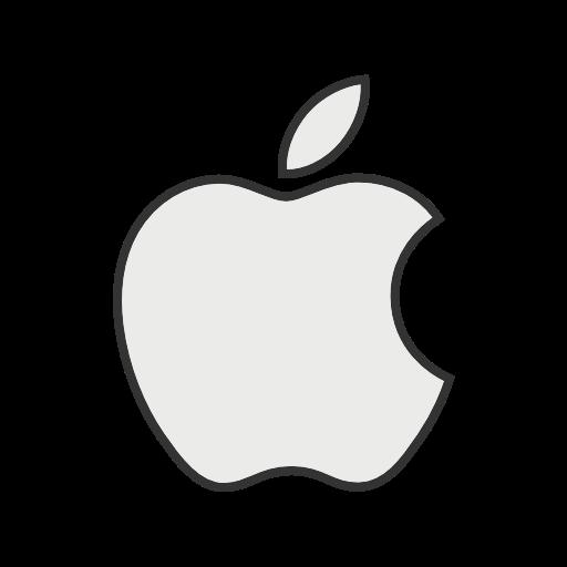 Apple Icon Free Of Social Media Logos I Filled Line