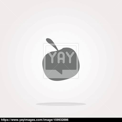 Apple Icon Vector Apple Icon Object Apple Icon Picture Apple