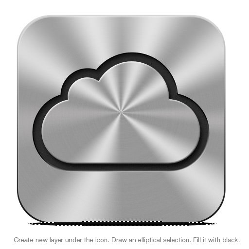 Blog Just For Fun How To Draw Apple Icloud Icon Photoshop Tutorial