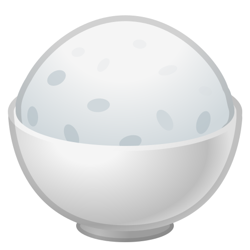 Cooked, Rice, Food Icon Free Of Noto Emoji Food Drink Icons