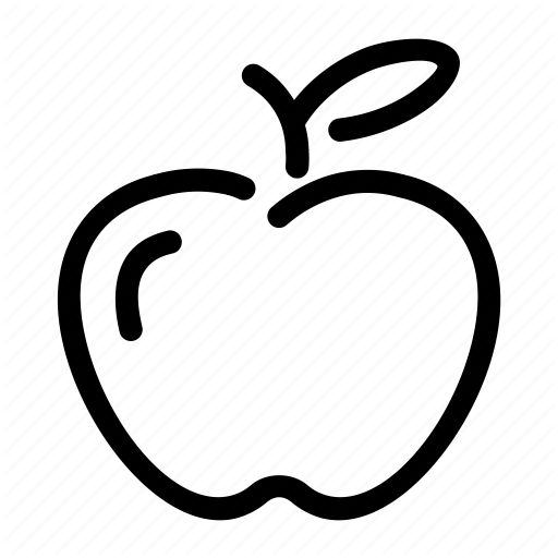 Apple, Breakfast, Food, Fruit, Teacher Icon