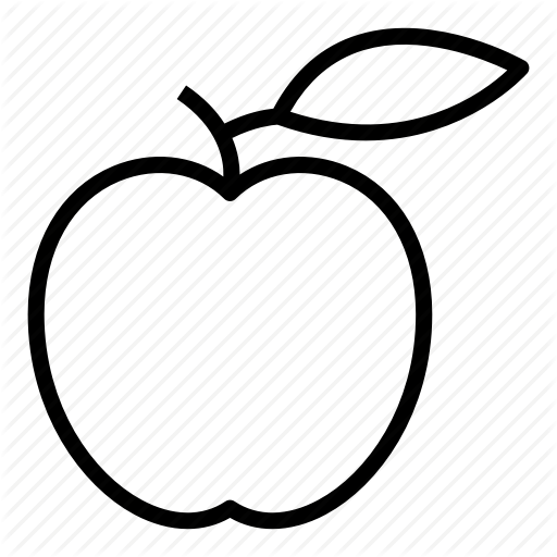 Apple, Eat, Food, Fruit, Healthy, Vegetable Icon