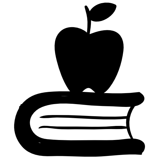 Download Apple And Book Png Image For Designing Projects
