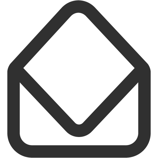 Mail Open Icon Mono General Iconset Custom Icon Design