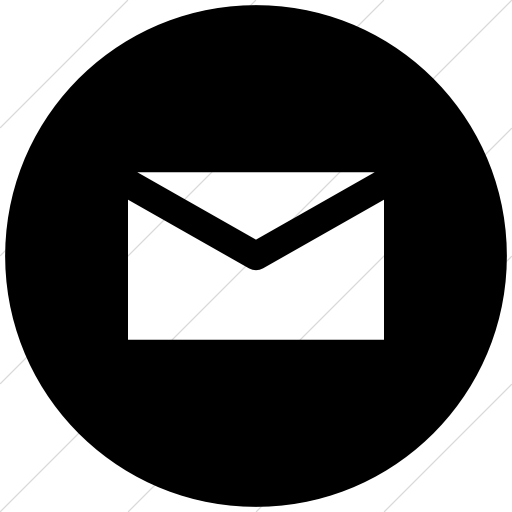 Mail Black Round Icon Transition Usta