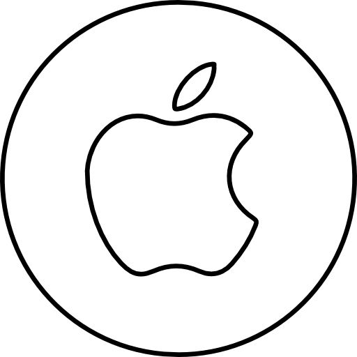 Apple Sign Icons Free Download