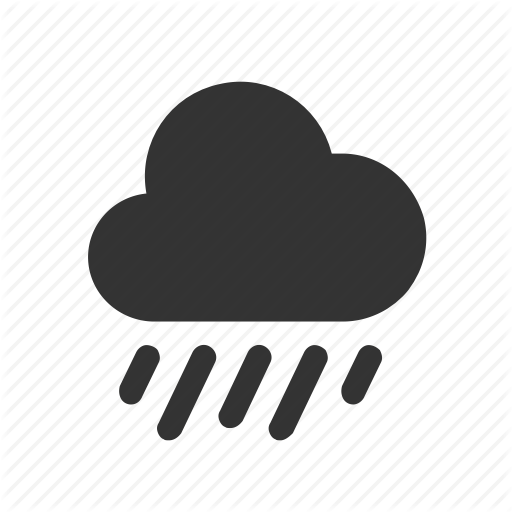 Apple, Ios, Rain, Raindrops, Weather Icon