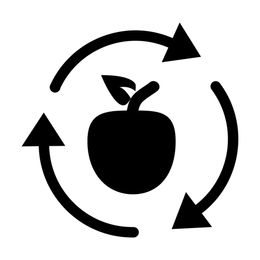 Recycle Icon Apple