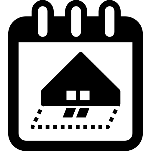 Date Day With Architect Calendar Reminder To House Construction