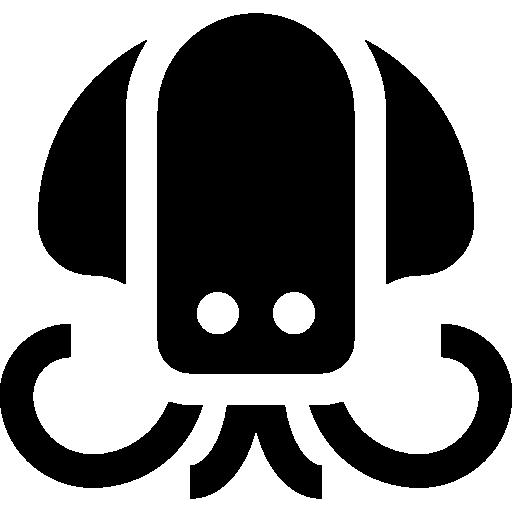 Squid, Aquatic, Sea Life, Animal, Animals, Aquarium Icon