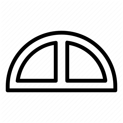 Drawing, Painting, Ruler, Ruler Arc Icon