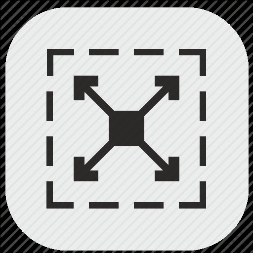 Area, Data, Max, Maximum, Size, Square, Window Icon