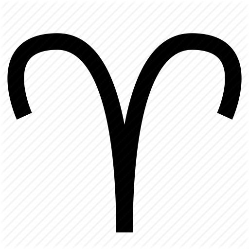 Aries, Horoscope, Sign Icon
