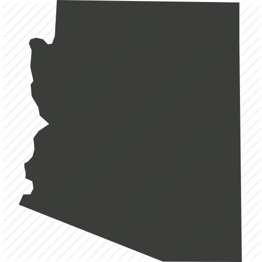 America, Arizona, Location, Map, State, Usa Icon