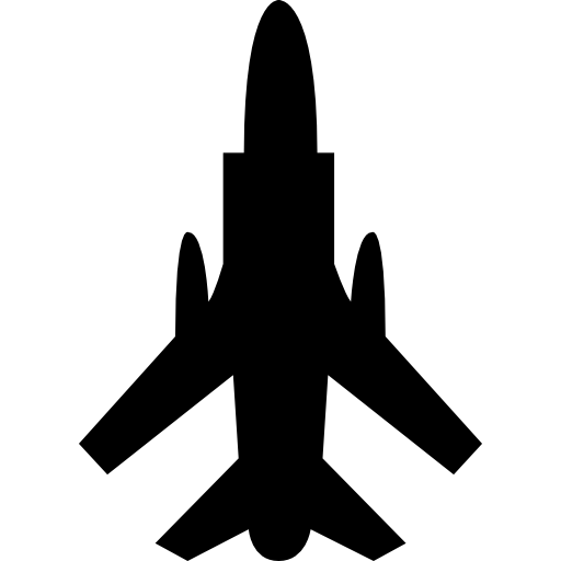 Army Airplane Bottom View Icons Free Download