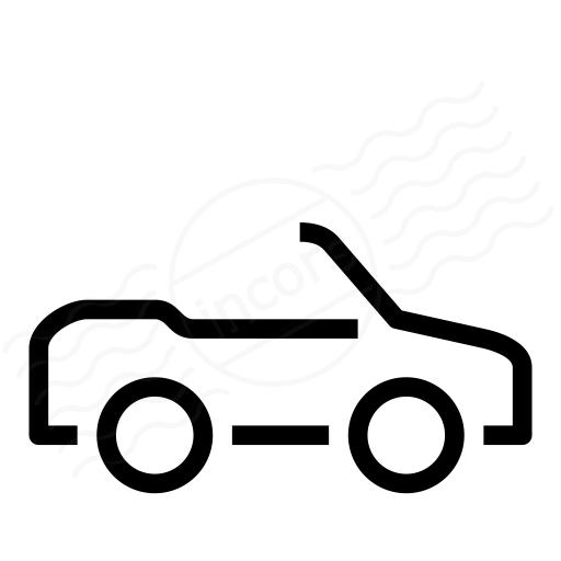 Iconexperience I Collection Car Convertible Icon