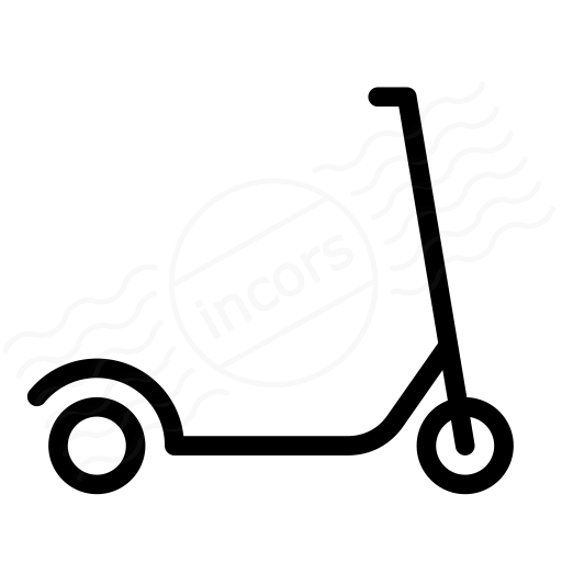 Iconexperience I Collection Scooter Icon