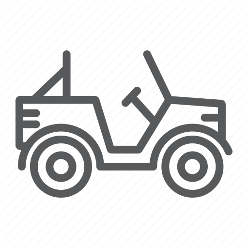Army, Car, Military, Transport, Truck, Vehicle Icon