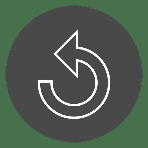 Repeat Arrow Button Circle Icon
